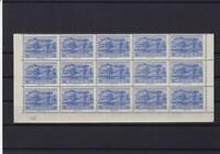 greece mint never hinged part stamps sheet ref r13665