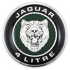 Jaguar XK8 X100 Boot lid badge 4 litre logo Genuine Jaguar 1996-99 to VIN 042775
