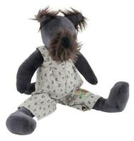 Moulin Roty La Grande Famille Little Walter the Dog Baby Soft Toy Plush 30cm