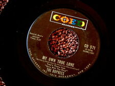 DUPREES~MY OWN TRUE LOVE~VG++~GINNY~A KILLER TWO SIDER~COED 571~ DOO WOP 45