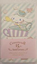 Sanrio Cinnamoroll 15th Anniversary Pocket Notebooks Set of 3