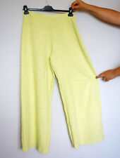 Completo Lino by Arthurio 100% Linen Lime Lagenlook Trousers, Size:S