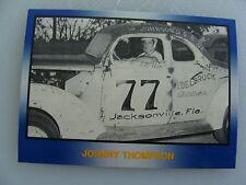 #77 JOHNNY THOMPSON - 8/25/51 thru 3/16/52  #20 -TG RACING'91 Masters -TG Racing