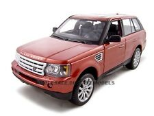 RANGE ROVER SPORT METALLIC RED 1:18 DIECAST MODEL CAR BY MAISTO  31135