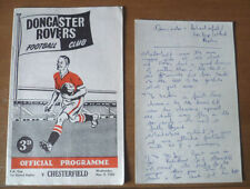 FA Cup Home Teams C-E Written - on Football Programmes