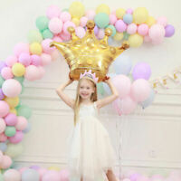 "40"" Gold Crown Foil Helium Balloon Princess Birthday Party Wedding Decoration Sd"