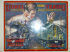 Lionel Trains 1929 Catalog Cover Replica Metal Sign