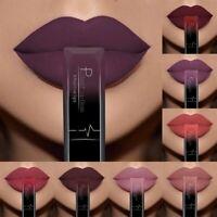 Pudaier Matte Nude Liquid Lipstick Metal Color Lip Gloss Makeup Beauty Surprise
