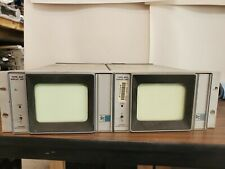 Tektronix 602 XY X-Y monitor display x2 Untested