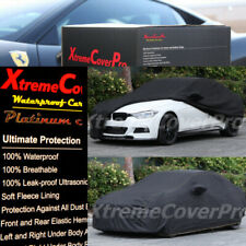 2014 2015 BMW 320I 328I 328D 335I SEDAN Waterproof Car Cover w/MirrorPocket BLK