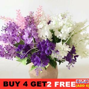 1pcs Artificial Hyacinth Silk Flowers Bunch Wedding Bouquet Home Party Decor
