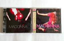 MADONNA lot of 2 JAPAN CD + DVD I'm Going To Tell You A Secret / Confessions On