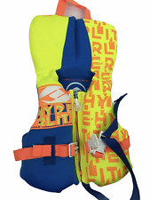 Hyperlite Kids Childrens Toddler Life Vest Pdf Flotation Device Yellow Blue