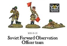 Bolt Action BNIB Soviet Forward Observer Officers (FOO)