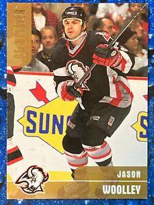 1999-00 Be A Player BAP Memorabilia Gold Jason Woolley #125 001/100