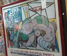 REDUCED!!!  PABLO PICASSO & THE WEEPING WOMEN 1994 ORIGINAL LITHOGRAPH FRAMED
