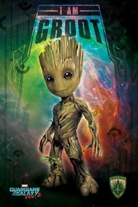 Guardians Of The Galaxy Poster Vol. 2 I Am Groot - Space 61x91.5cm
