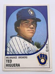 Baseball Cards💎1988💎Panini - Milwaukee Brewers - Ted Higuera🌟116🌟MLB