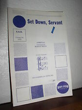Choral Music: Set Down, Servant  Arr. Marcus Wiley (S.A.B.) Pro Art #2376
