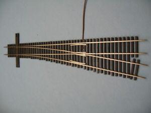 Custom Built Micro Engineering Code 83 #8 RH Turnout