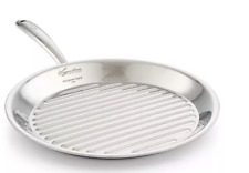 """Lagostina Stainless Steel 11"""" Accademia Bistercchiera Grill"""