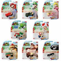 Pick and choose 🏆 Hot Wheels Super Mario 1:64 Character Cars