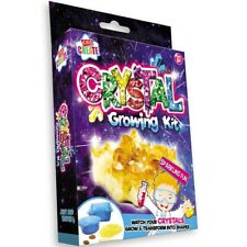 Childrens Make Your Own Growing Crystals Charms Science Experiment Kit Set Toy