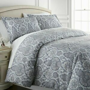 Seasons collection Paisley Reversible Duvet Cover Set Full/Queen