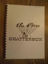 Fond Du Lac Wi. High School Yearbook Annual 1949 Chatterbox
