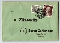Germany 1950s Cover w/ Walther Rathenau Issue - Z13466