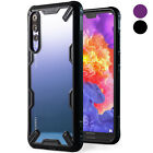 For Huawei P20 Pro | Ringke [FUSION-X] Shockproof Clear PC Back Armor Case Cover