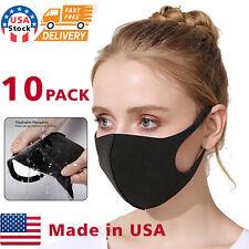 10PACK Face Mask Reusable Washable Covering Masks  Unisex polyurethane Masks
