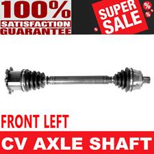 FRONT LEFT CV Axle For AUDI A4 QUATTRO 02-08 L4 1.8L Manual Transmission L4 1.8L