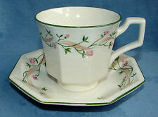 JOHNSON BROTHERS CHINA TEA COFFEE CUP & SAUCER SET ~ ETERNAL BEAU ~ 6 AVAILABALE