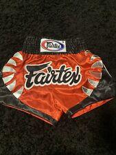 fairtex muay thai shorts M