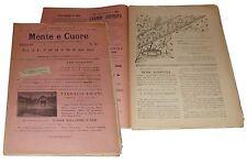 Mente e Cuore Imola 1 Dicembre 1894 S. Caterina d'Alessandria Santa Cecilia
