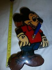 mickey mouse pen holder vintage wooden