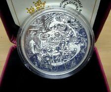 2014 Canada $30 2Oz Tim Barnard Silver Coin