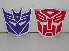 "TRANSFORMERS 5"" MAGNET SET - Autobot & Decepticon - CAR Refridgerator LOCKER etc"