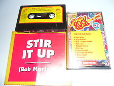 MC Cassette BOB MARLEY Stir It Up Live i Miti Del Rock 20 REGGAE Ska Mods Skin