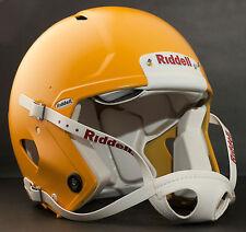 Riddell Revolution SPEED Classic Football Helmet (Color: FLAT GREEN BAY GOLD)