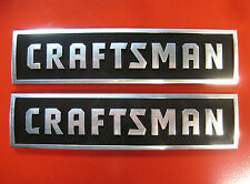 2 - Craftsman Tool Box Badges,New Style: Chest/Cabinet,Emblem,Decal,Sticker,Logo