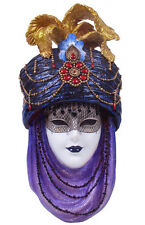 """NEW Mask with Turban Wall Plaque 12""""  Ship Immediately"""