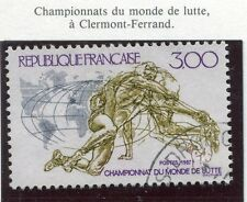 STAMP / TIMBRE FRANCE OBLITERE N° 2482 LA LUTTE CLERMONT FERRAND