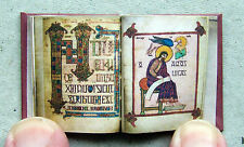 Dollshouse Miniature Book - Lindisfarne Gospel