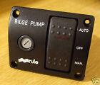 Marine bilge pump switch RULE 3 way 12v illuminated deluxe   MODEL 43 photo