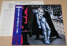 Y & T - DOWN FOR THE COUNT, ORG JAPAN PROMO vinyl LP OBI, M-/M-, AMP-28136