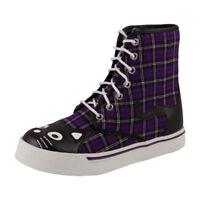 T.U.K. Ladies Kitty 7 Eye Sneaker Boot  EU 38/UK 5 - A8289L