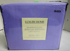 Luxury Home 1600 Series Collection Egyptian Softness Sheet Set Queen Lilac #6