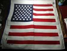 bandana fantasia america COTONE mare 55x55 cm motociclisti  foulard usa